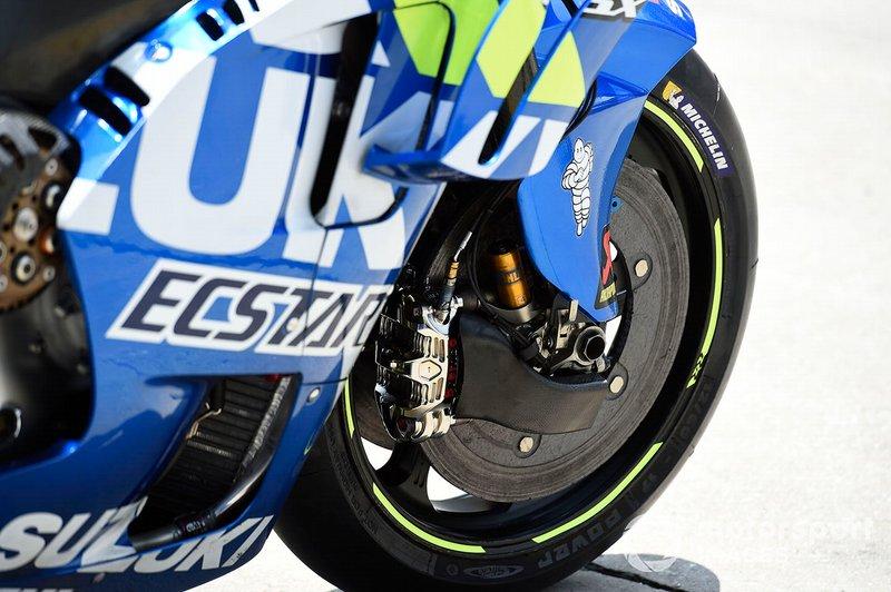 Frenos del Team Suzuki MotoGP