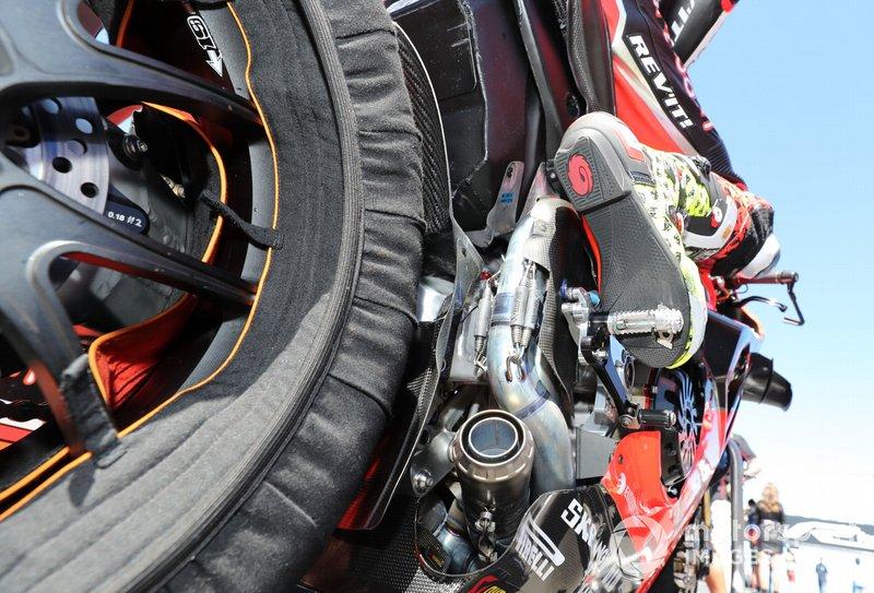Alvaro Bautista, Aruba.it Racing-Ducati Team's Ducati