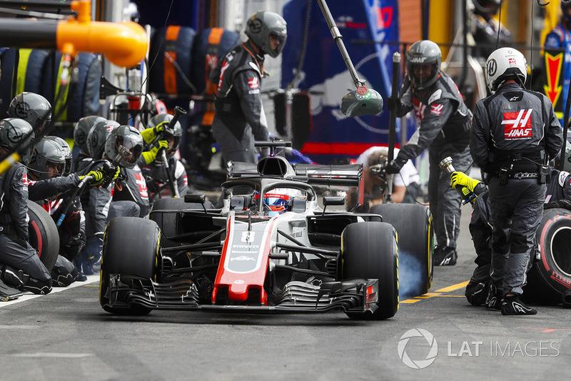 7e : Romain Grosjean (Haas F1)