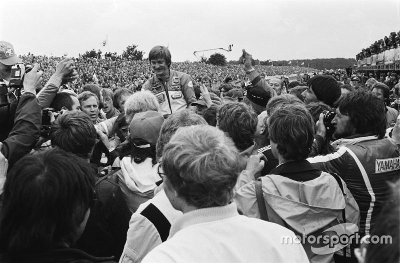 Racewinnaar Jack Middelburg, Yamaha