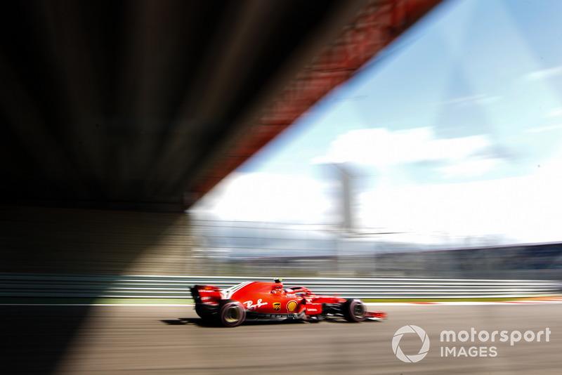 4 місце — Кімі Райкконен, Ferrari. Умовний бал — 23,41