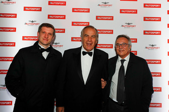 Filippo Salza, Giorgio Piola and Franco Nugnes