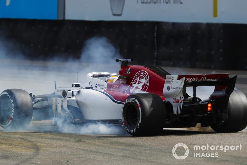 Разворот: Маркус Эрикссон, Alfa Romeo Sauber C37