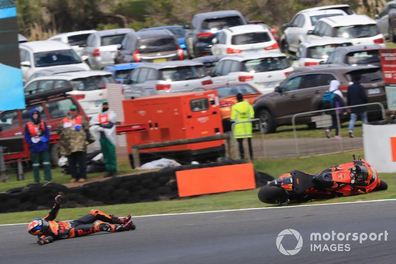 Аварія Бредлі Сміта, Red Bull KTM Factory Racing