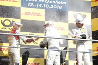Podium: Kampioen Gary Paffett, Mercedes-AMG Team HWA, René Rast, Audi Sport Team Rosberg, Paul di Resta, Mercedes-AMG Team HWA