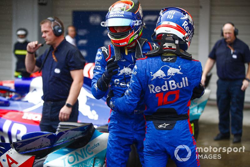 Сильний результат у кваліфікації для Toro Rosso на домашньому етапі Honda