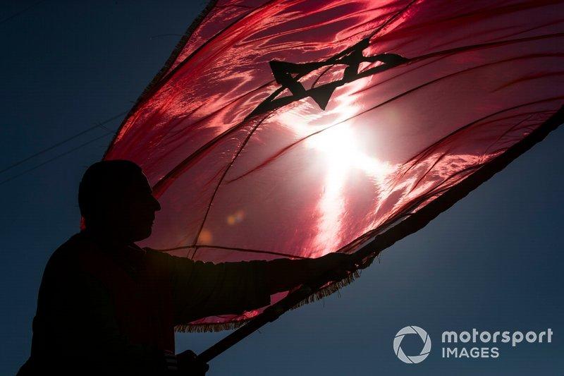 La bandera marroquí