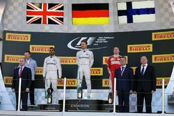 Подиум: победитель - Нико Росберг, Mercedes AMG F1 Team, второе место - Льюис Хэмилтон, Mercedes AMG