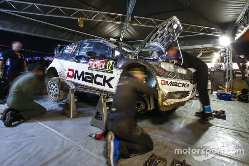 Ott Tänak, Raigo Molder, DMACK World Rally Team