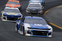 Alex Bowman, Hendrick Motorsports, Chevrolet Camaro Nationwide and Chase Elliott, Hendrick Motorsports, Chevrolet Camaro NAPA Auto Parts
