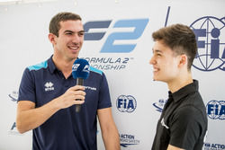 Media activities,Nicholas Latifi, DAMS, Jack Aitken, ART Grand Prix