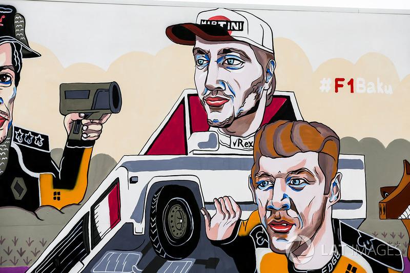Artwork depicting Carlos Sainz Jr., Renault Sport F1 Team, Sergey Sirotkin, Williams Racing, Nico Hulkenberg, Renault Sport F1 Team