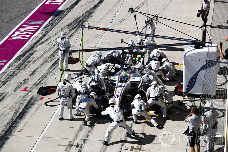 O máximo que Felipe Massa conseguiu no México foi o sexto lugar, em 2015.