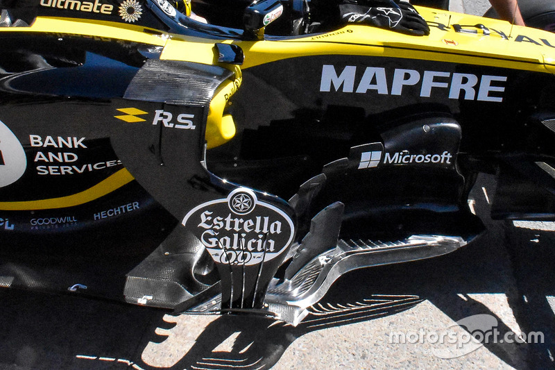 Renault Sport F1 Team RS 18 side detail