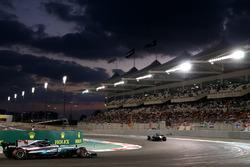 Valtteri Bottas, Mercedes-Benz F1 W08  leads Lewis Hamilton, Mercedes-Benz F1 W08