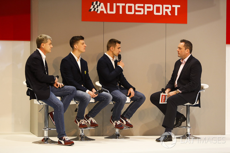 Ferrari WEC champions James Calado and Alessandro Pier Guidi talk to Henry Hope-Frost on the Autospo