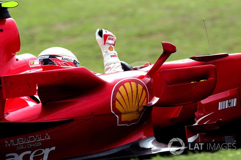 2007. Інтерлагос. Переможець: Кімі Райкконен, Ferrari F2007
