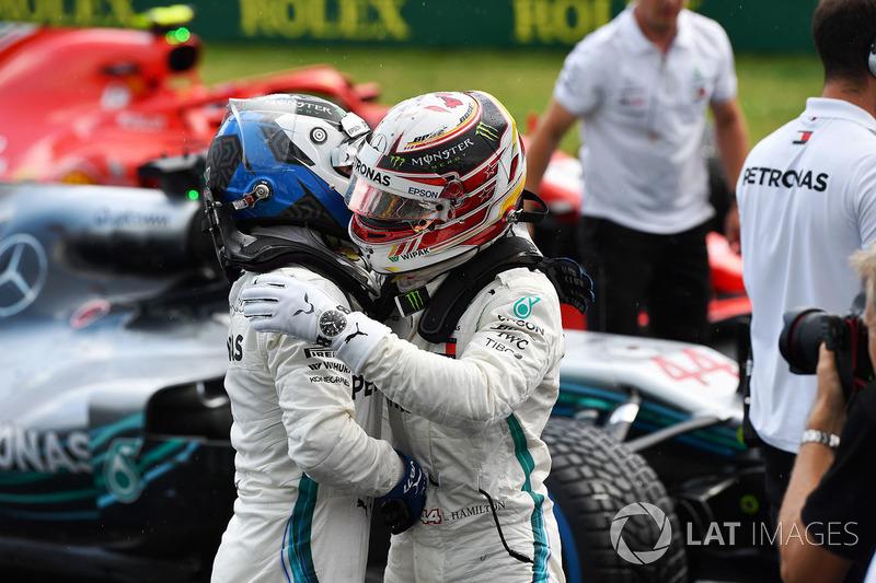 Валттері Боттас, Льюіс Хемілтон, Mercedes-AMG F1