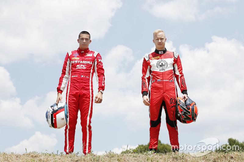 Giuliano Alesi, Trident Nikita Mazepin, ART Grand Prix