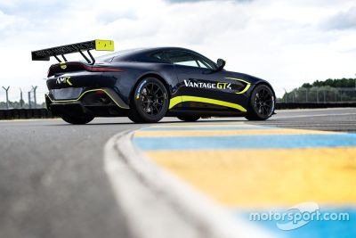 Präsentation: Aston Martin GT3/GT4