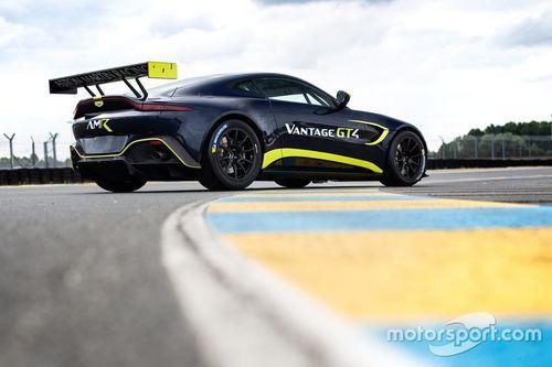 Aston Martin GT3/GT4 aankondiging