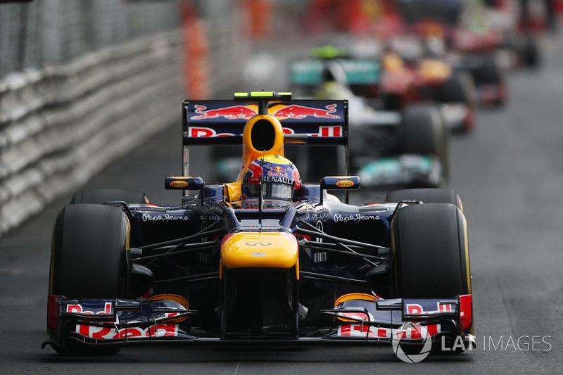 2012 viu Webber controlar Rosberg do começo ao fim. O pódio teve uma mudança no terceiro lugar, já que Hamilton, que largou naquela posição, foi superado apenas na estratégia por Alonso e Vettel.
