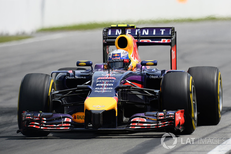 18º Daniel Ricciardo - 15 corridas - De Bahrein 2014 até Estados Unidos 2014 - Red Bull
