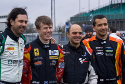Paul Dehadray, Kieran Griffin, William Paul and Rory Butcher