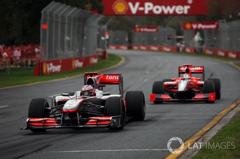 2010: Дженсон Баттон, McLaren Mercedes MP4/25