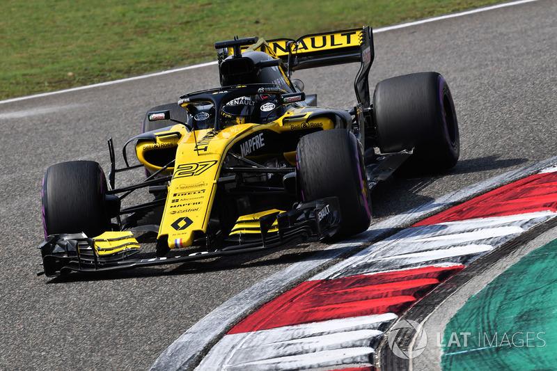 Гран При Китая: первая победа Хюлькенберга и столкновение гонщиков Toro Rosso
