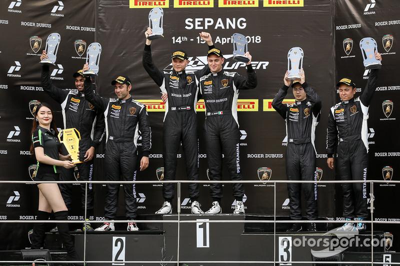 Armaan Ebrahim and Anindith Reddy (Lamborghini Super Trofeo Asia, Malaysia)