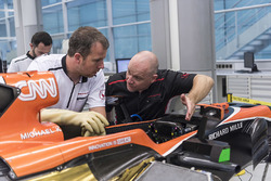 L'assemblage de la McLaren