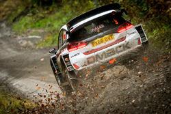 Элфин Эванс и Дэниэл Бэрритт, Ford Fiesta WRC, M-Sport