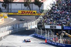 Nick Heidfeld, Mahindra Racing. & Oliver Turvey, NIO Formula E Team