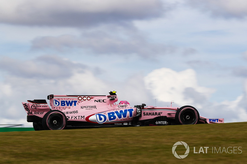 6. Esteban Ocon, Sahara Force India F1 VJM10