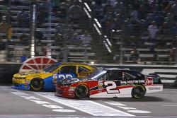 Austin Dillon, Richard Childress Racing Chevrolet and Brandon Jones, Richard Childress Racing Chevrolet