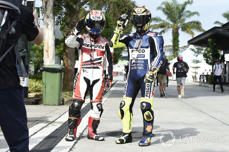 O GP da Malásia prometia muita emoção aos fãs da motovelocidade, principalmente para aqueles que compareceram caracterizados.