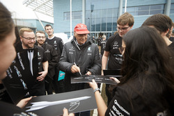 Niki Lauda, Teammitglieder
