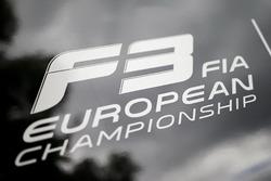 FIA F3 European Championship logo on a truck