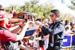 Esteban Ocon, Force India, rencontre des fans