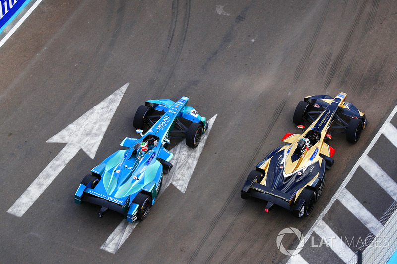 Antonio Felix da Costa, Andretti Formula E Team, battles with Andre Lotterer, Techeetah