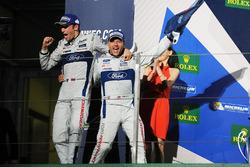 Подіум GTE Pro: Енді Пріоль Гаррі Тінкнелл, Ford Chip Ganassi Racing