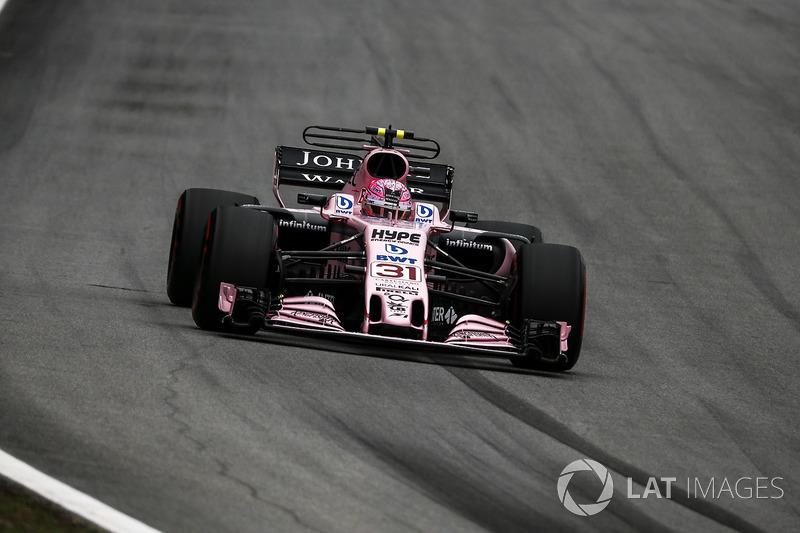 2017: Force India-Mercedes VJM10