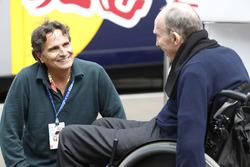 Nelson Piquet und Frank Williams