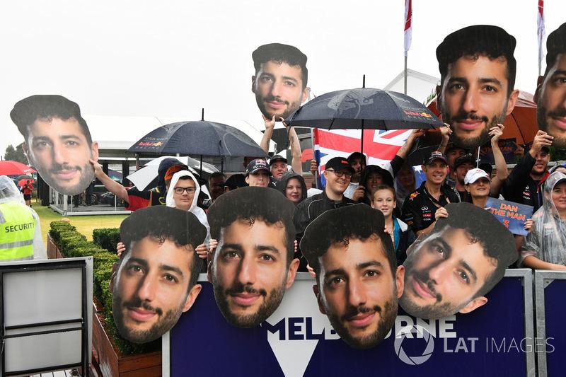 Daniel Ricciardo, Red Bull Racing taraftarları