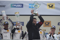 Podium: Martin Reader, Manthey Racing co-owner