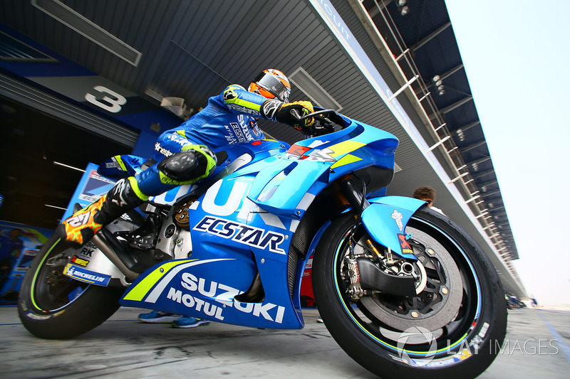 Alex Rins, Team Suzuki MotoGP with new fairing