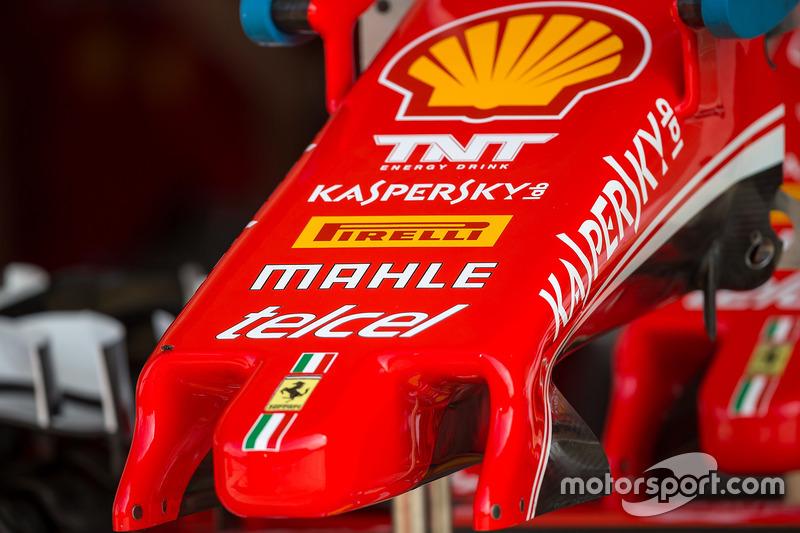 Ferrari SF16-H nosecone