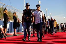 Felipe Massa, Williams y Carlos Sainz Jr., Scuderia Toro Rosso