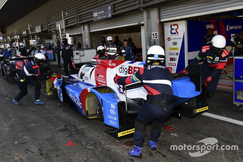 #32 SMP Racing, BR 01 Nissan: Stefano Coletti, Andreas Wirth, Vitaly Petrov